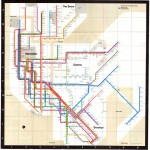 Subway Map 1972