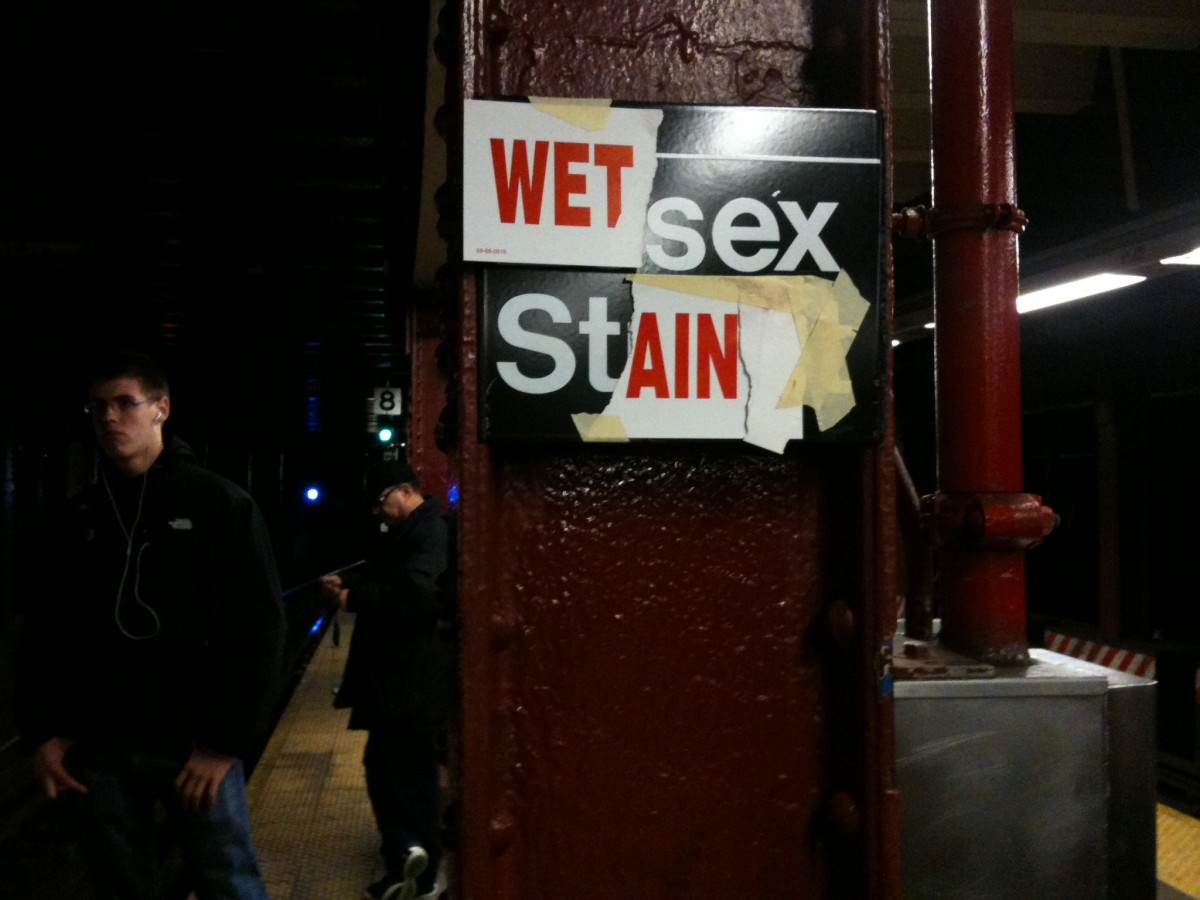 Wet Sex Stain